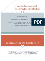 A review on electrochemical technologies for water disinfection.ppt