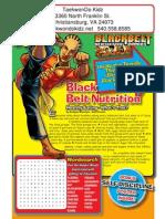 black belt comic issue 3p