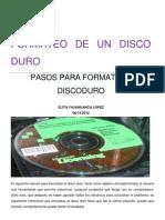 Manual de Formatear Disco Duro