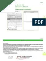 Instructivo Cartilla de Evaluacion 2012-2013