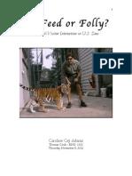 To Feed or Folly PDF