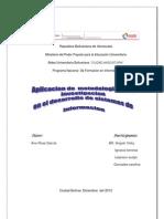 Aplicacion de Metodologia de La Investigacion en El Desarrollo de Sistemas de Informacion