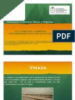 Disposicion de Vinazas en Ingenio Azucarero