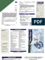 2012 Worship Bulletin Legal Size