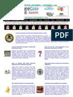 Weekend Edition - December 3, to December 7, 2012 - ForeclosureGate Gazette