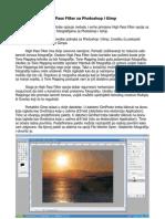 High Pass Filter Za Photoshop i Gimp