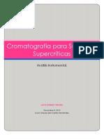Cromatografía para Sustancia Supercriticas