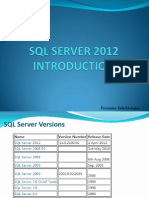SQL Server 2012-New Features