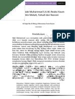 Perutusan Nabi s.a.w; Reaksi Kaum Quraisy, Nasrani Dan Yahudi