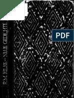Rilke_Neue Gedichte (1922)