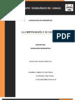 La criptografía y su legislación