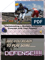 IMPLEMENTING A MULTIPLE DEFENSIVE CONCEPT WITH YOUR PLAYER