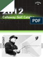 Callaway Catalog Sea 2012