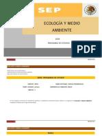 Ecología DGB 2012