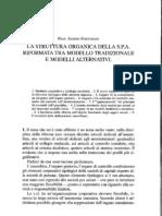 Sabino Fortunato La Struttura Organica Della Spa Riformata Tra Modello Tradizionale e Modelli Alternativi