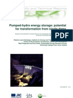 Transformation to Pumped Hydro