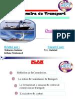 Commissionnaire de Transport