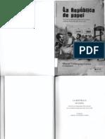 Prensa Perú XIX balance bibliográfico, república de papel y procesos generales