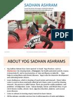 Yog Sadhan Ashram Gurgaon Training