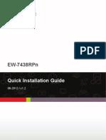 Edimax - EW-7438RPn - Wi-Fi Extender - Quick Install Guide - En
