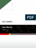 Edimax - EW-7438RPn - Wi-Fi Extender - User Manual - En