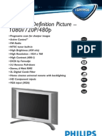Philips Flat TV 15PF9936 - Leaflet