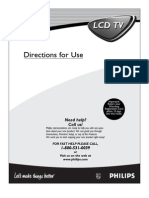 Philips Flat TV 15PF9936 - User Manual