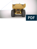Cat Dump Truck Back