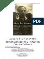 Bioy Casares Adolfo Descanso de Caminantes