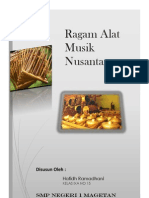 Ragam Alat Musik Nusantara