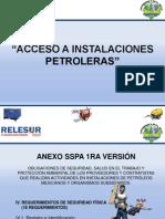 Acceso a Instalaciones Pemex