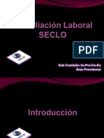 Taller Conciliación Laboral SECLO