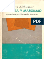ALTHUSSER, Louis; NAVARRO, Fernanda - Filosofia y marxismo - 1988
