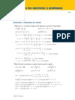 Soluciones Actividades Tema 5  3º ESO (Ecuaciones)