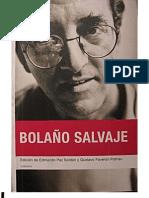 Bolaño Salvaje