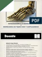 Introduccion a a La Biomecanica y Biomecanica de Tejido Oseo