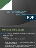 Profundización macros