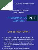Procedimientos de Auditoría