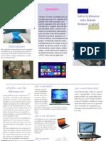 Diferencias Entre Netbook, Notbook y Laptos