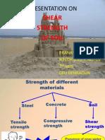 Shear Strength in Soils