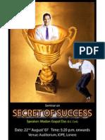 A3_Secret of Success