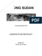 Facing Sudan Lesson Plans