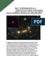 NOTICIAS ASTRONÓMICAS DE ACTUALIDAD