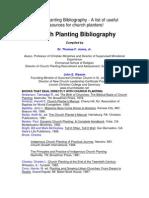 Church Planting Bibliography Pforp
