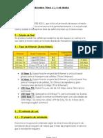 Resumen temas 2 y 3 de redes