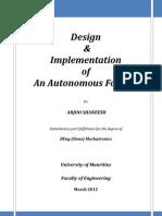 Design & Implementation of an Autonomous Forklift