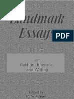 Essays on Bakhtin