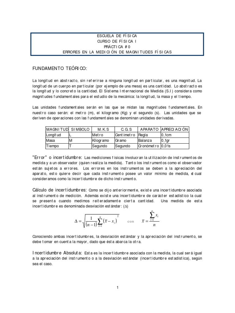 Manual Laboratorio Fisica 1