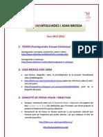 Full de Ruta Brossa 2012-13