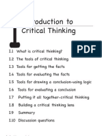 Critical thinking in nursing education  literature review